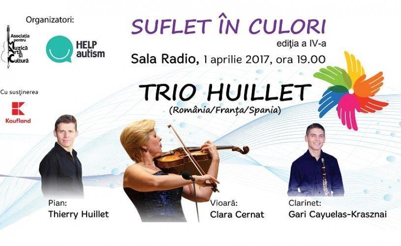 Suflet in culori, Concert caritabil in beneficiul copiilor cu autism