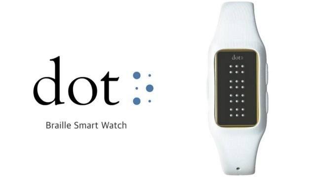 Dot, primul ceas inteligent pentru persoanele cu deficiente de vedere