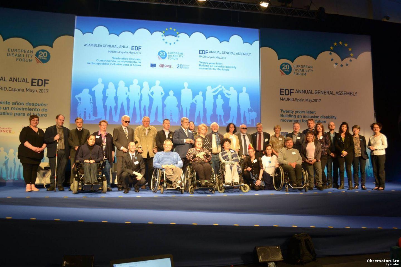 Declaratia de la Madrid, Adoptata la Adunarea Generala a EDF