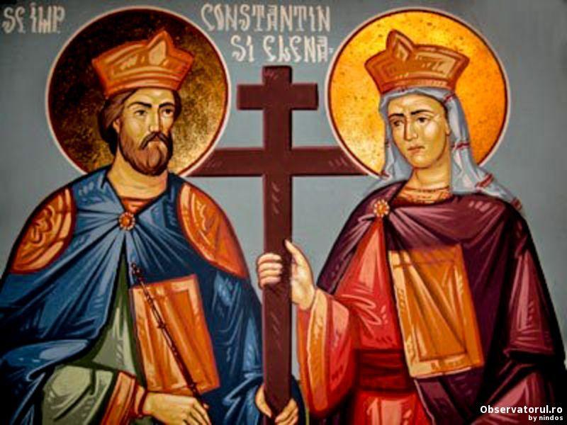 Sfintii Imparati Constantin si Elena