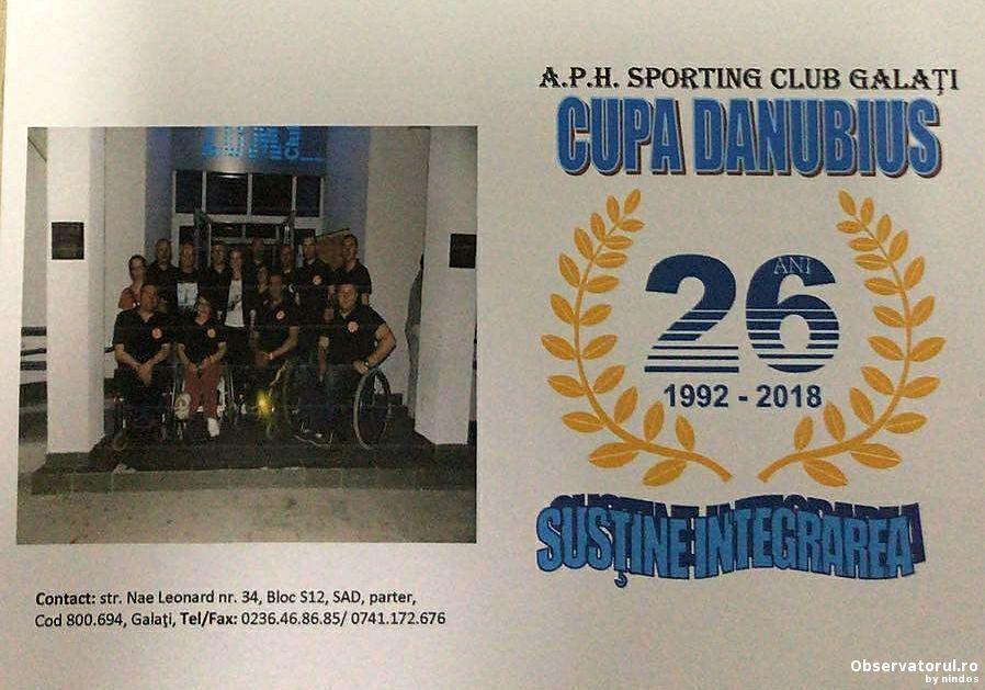 Cupa Danubius - Sustine integrarea, 23-27 mai 2018