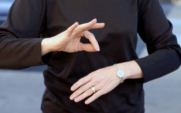 Proiect legislativ pentru persoanele cu deficienta de auz si vorbire