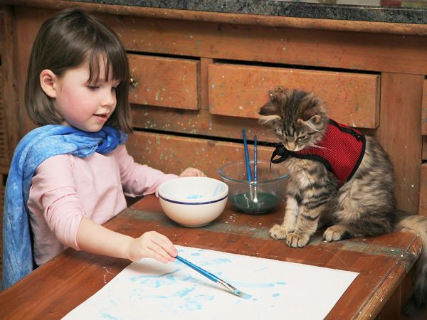 Iris Grace Halmshaw, fetita cu autism care revolutioneaza lumea artistica