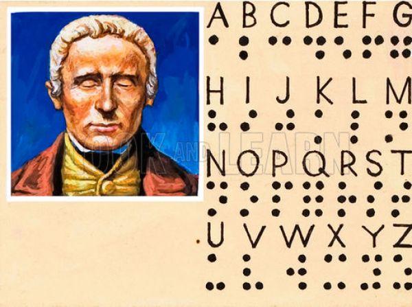 Louis Braille, inventatorul sistemului de scriere utilizat de nevazatori