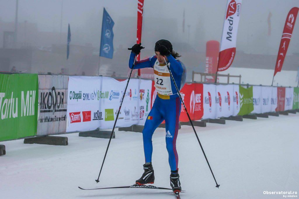 Ciucanul Robert Tamirjan, vicecampion european la WinterTriathlon