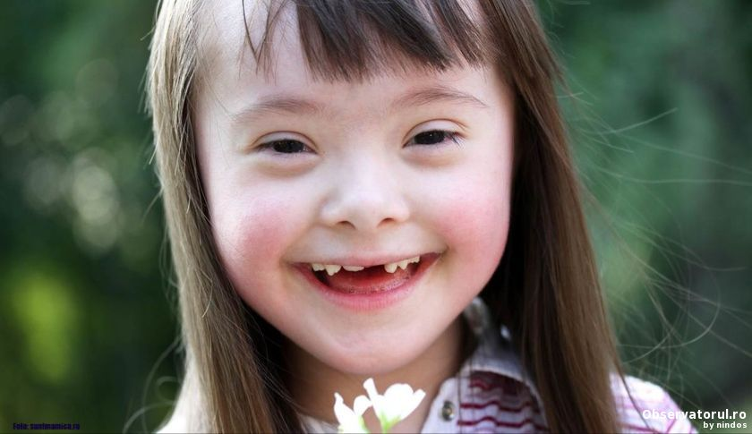Copiii diagnosticati cu sindromul Down vor beneficia de asistent personal