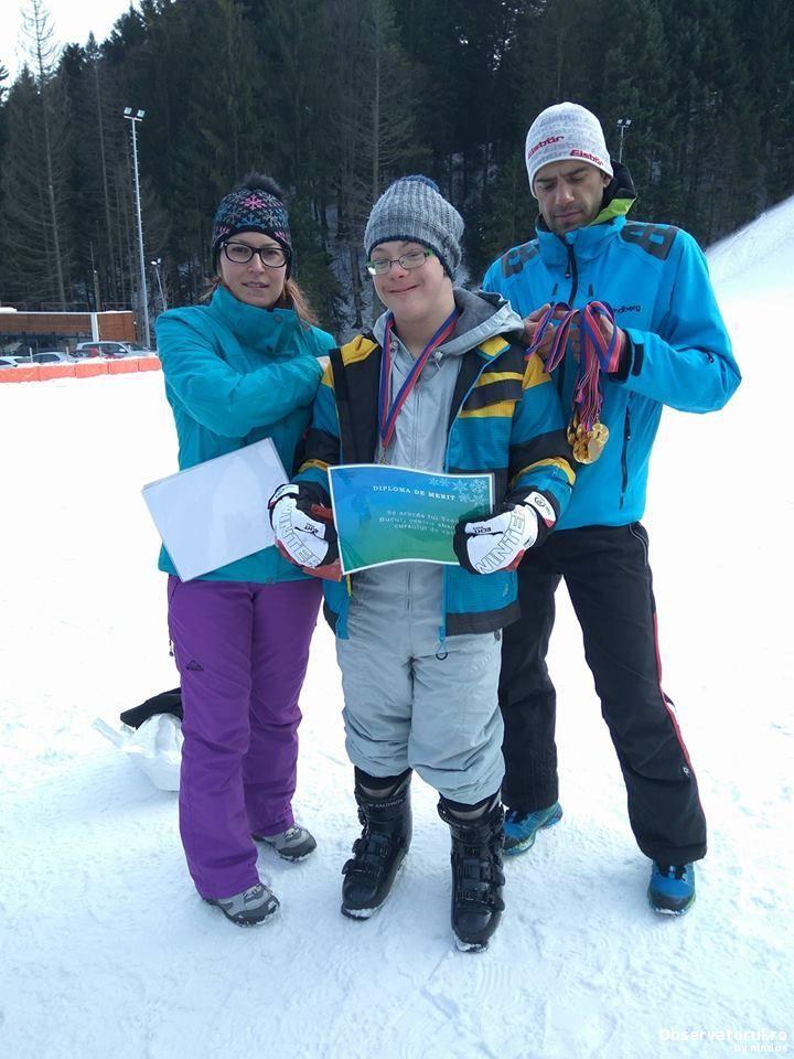 Sportivii cu dizabilitati intelectuale sunt prezenti la Jocurile Mondiale de Iarna Special Olympics