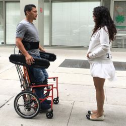 Solutie inovativa pentru scaunul rulant