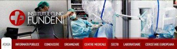 Sala de Kinetoterapie pentru pacientii cu hemofilie in Compartimentul de Recuperare al Institutului Clinic Fundeni