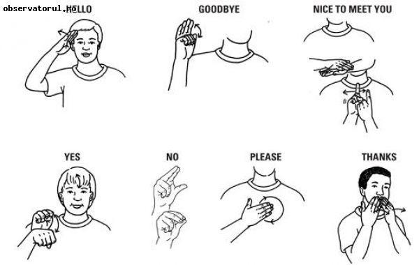 Problemele persoanelor cu deficienta de auz