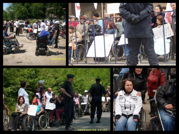 Sustineti prin semnatura initiativa legislativa pentru cresterea prestatiei sociale a persoanelor cu dizabilitati