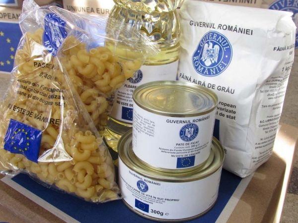 In sectorul 6 se distribuie ajutoarele alimentare de la UE