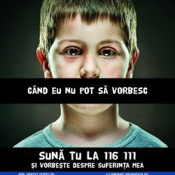 Crestere dramatica a abuzurilor asupra copiilor, biliantul Asociatiei Telefonul Copilului