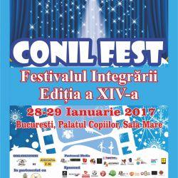 Nicole Cherry va concerta in cadrul CONIL Fest, Festivalul Integrarii, editia a XIV a