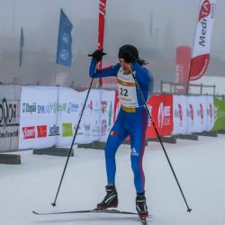 Ciucanul Robert Tamirjan, vicecampion european la WinterTriathlon
