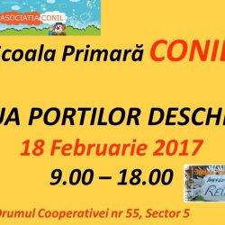 Ziua portilor deschise la Scoala Primara CONIL