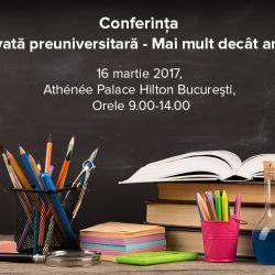 Conferinta Educatia privata preuniversitara, Mai mult decat antreprenoriat