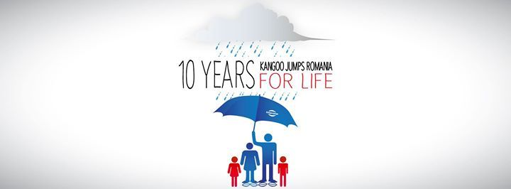 10 Years Kangoo Jumps Romania for LIFE